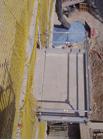 Double loading platform for building sites