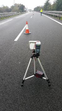 DETECTOR: Highway maintenance works area intrusion alarm